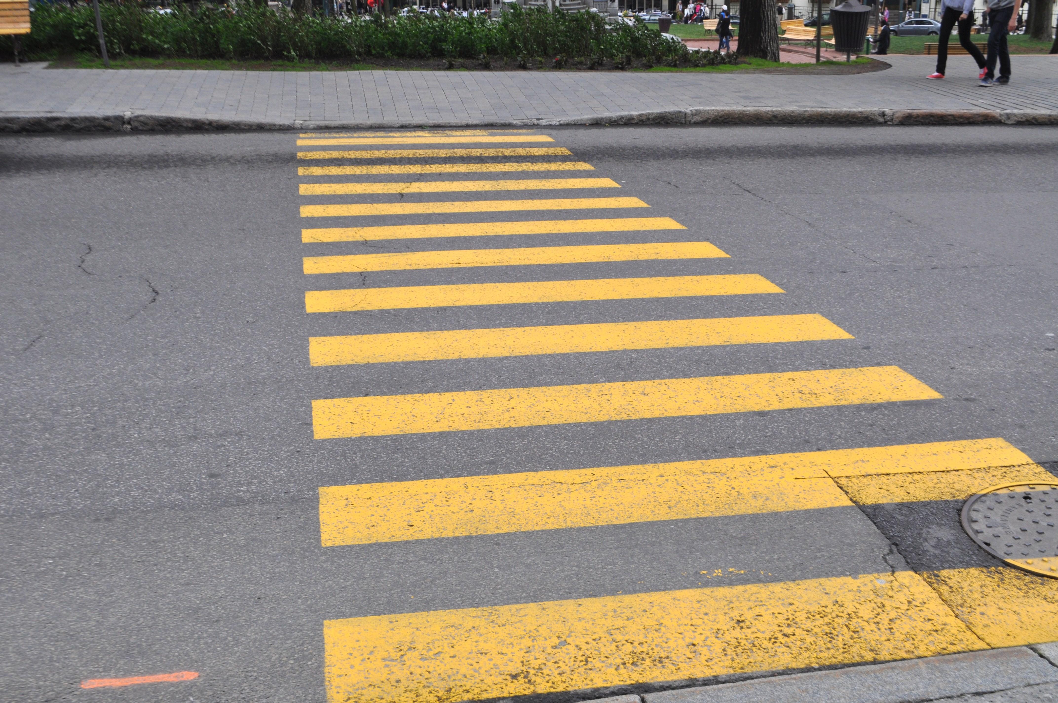 Opportunities to Improve Crosswalk Safety   Crosswalk Safety